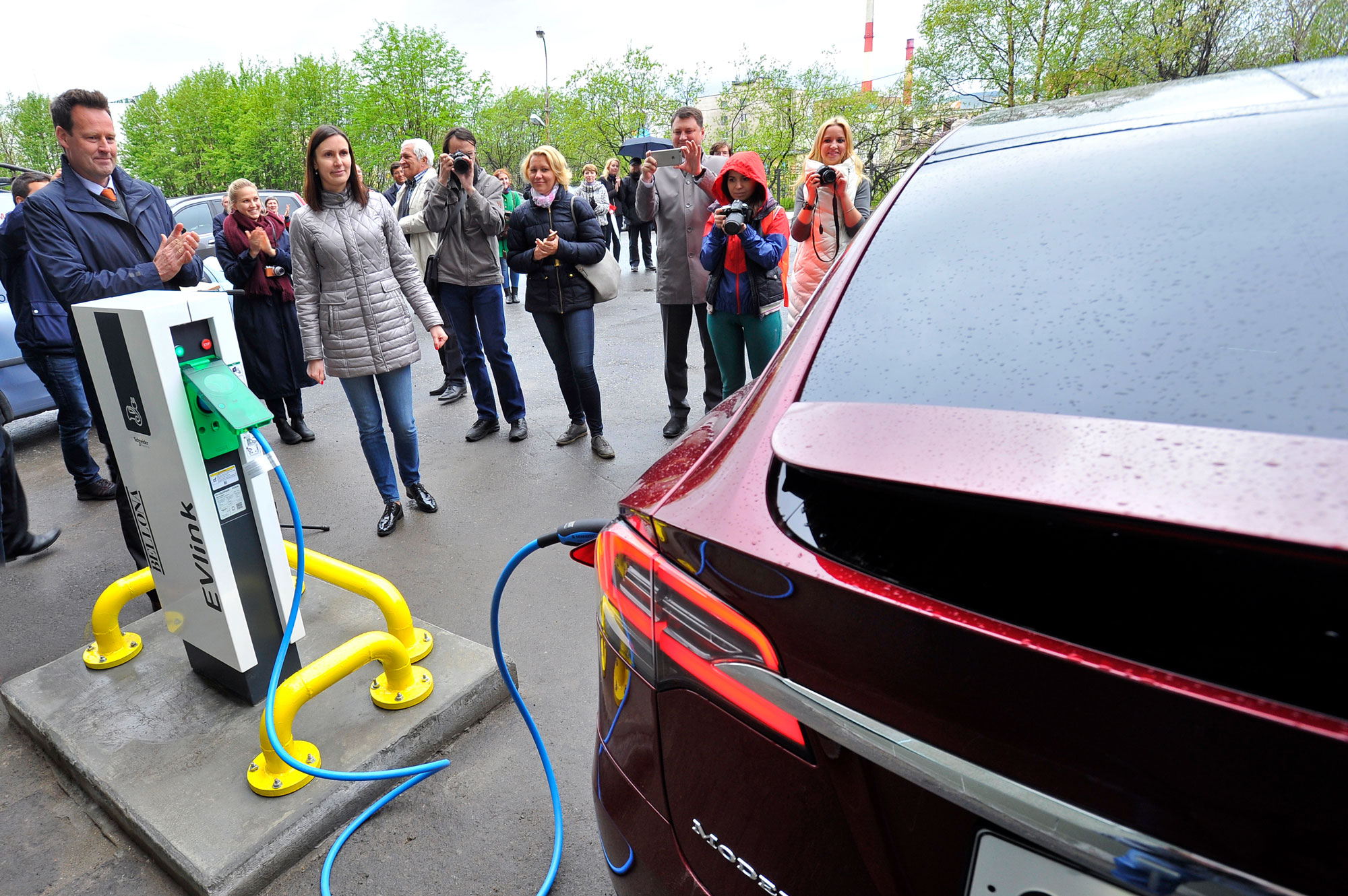 Bellona Opens First Electric Car Charge Station In