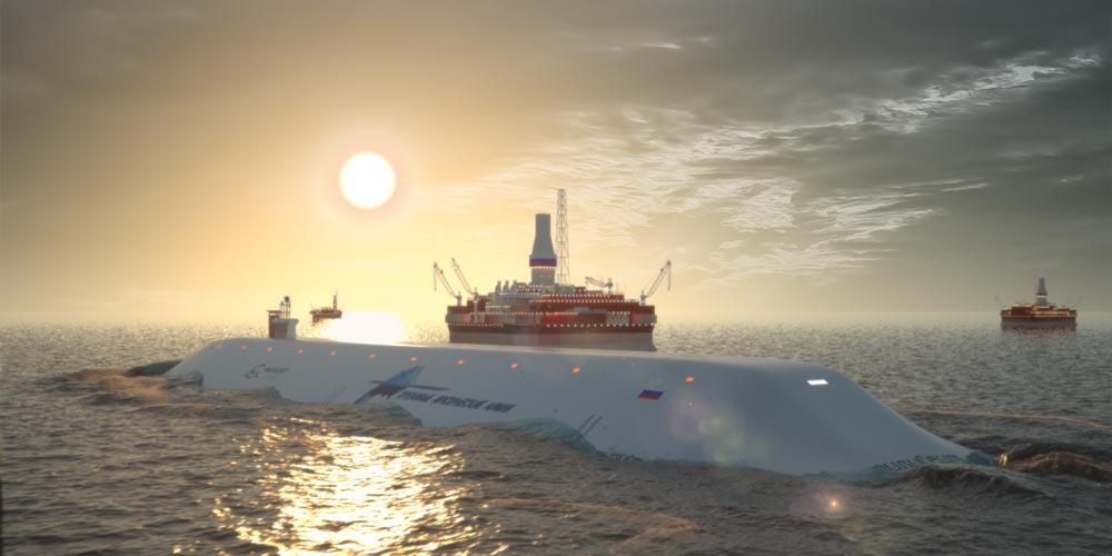Российские АПЛ-танкеры восхитят весь мир