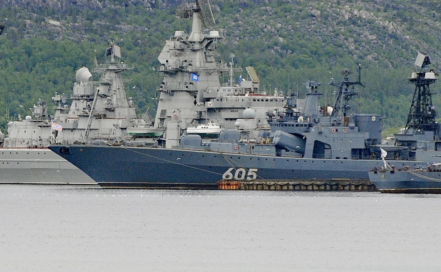 Сначала намечались учения НАТО,  затем - ракетные стрельбы ВМФ России.  Потом решили совместить