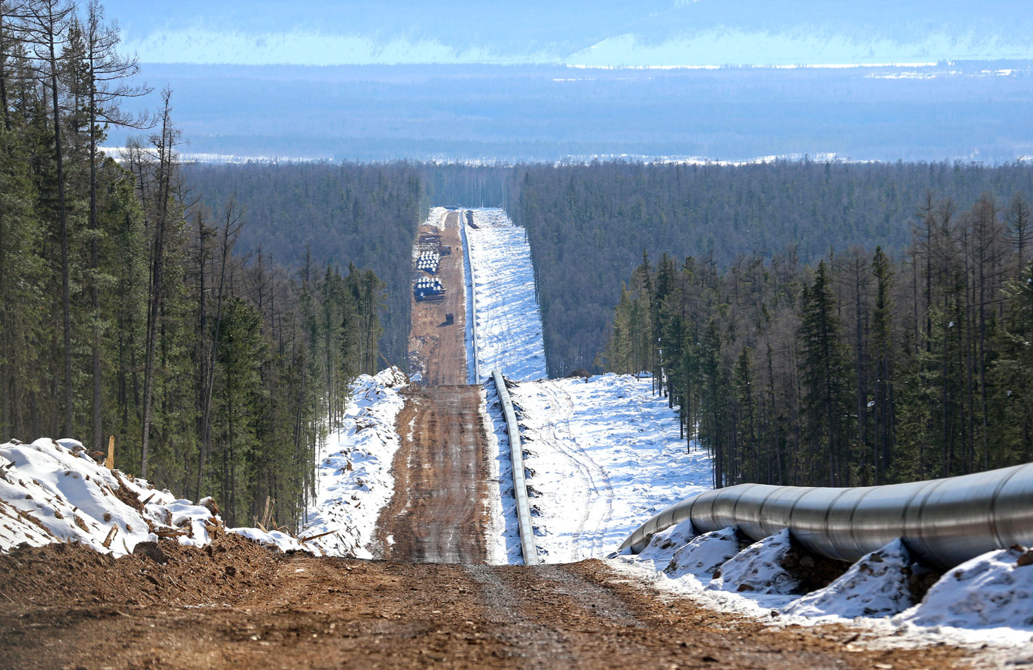 Painting Of Houses Natural Gas Again On Murmansk Agenda The Independent