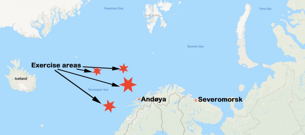 Russian Navy Drill Outside Northern Norway Ended Without Smoke The Independent Barents Observer