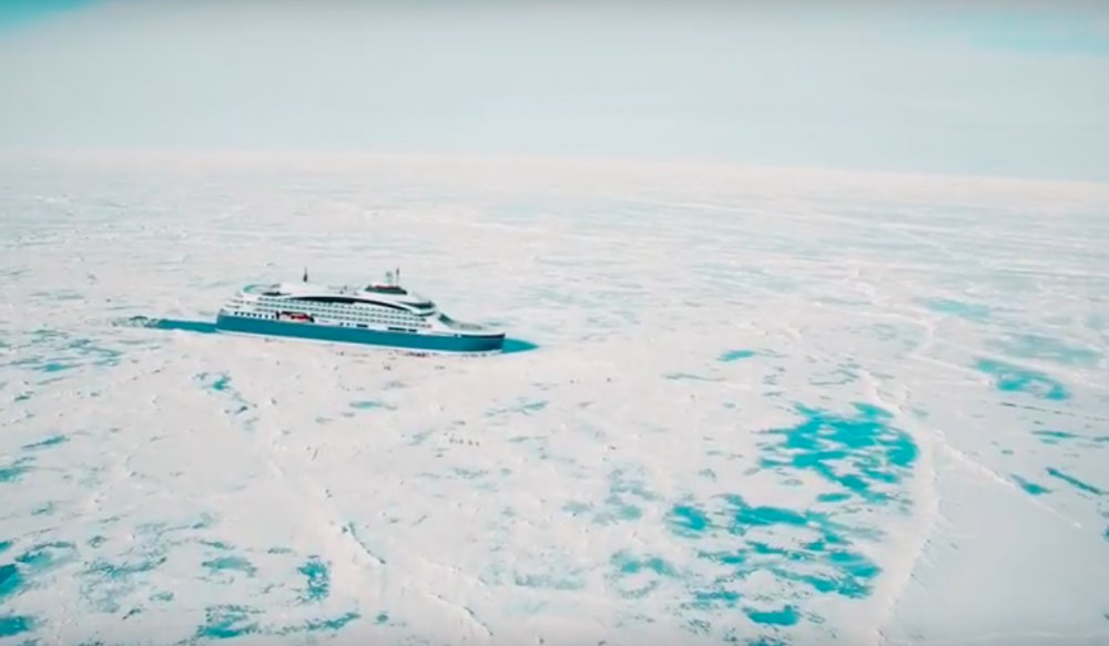 Ponant polar expedition ship to run on liquefied natural gas