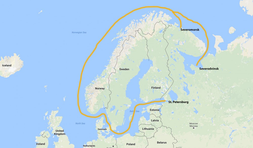 World S Biggest Nuclear Sub To Show Off In The Baltic The