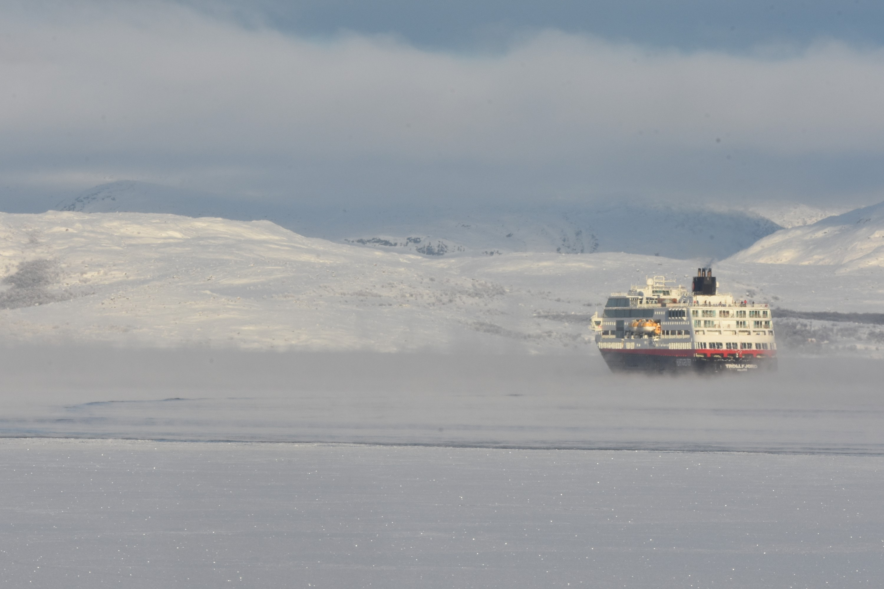 A wave of expedition ships set sail towards Svalbard in 2020