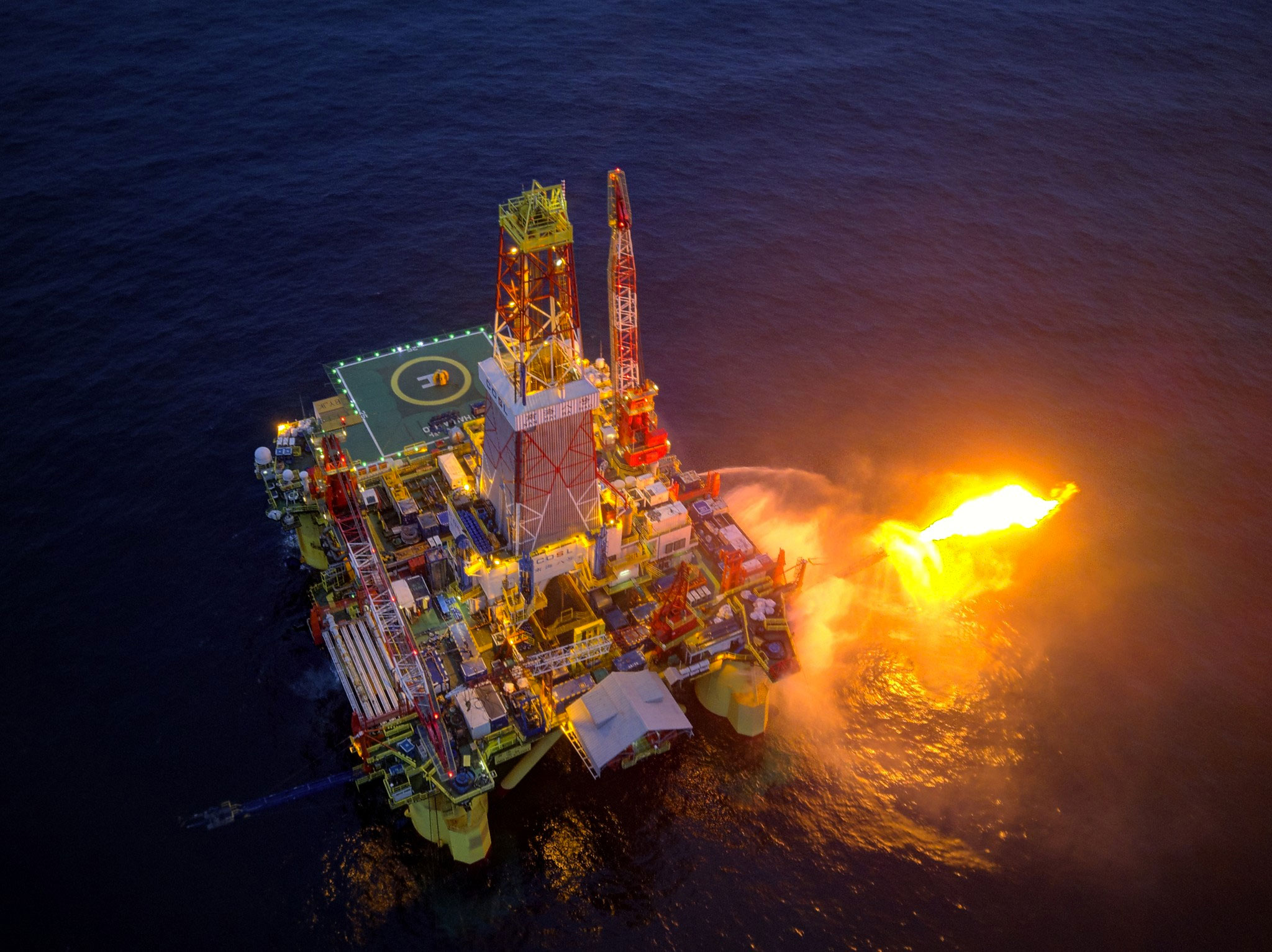 Chinese rig makes second large discovery in Russian Arctic waters