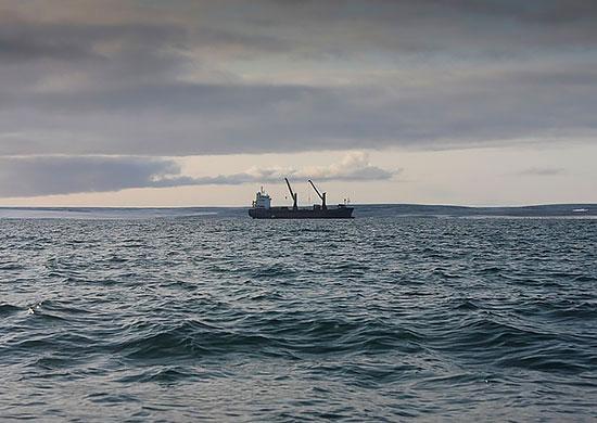 Navy commandos board cargo vessel on Northern Sea Route