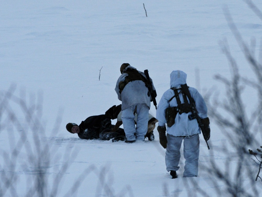 First illegal border-crossing on migrants\' Arctic Route | The ...