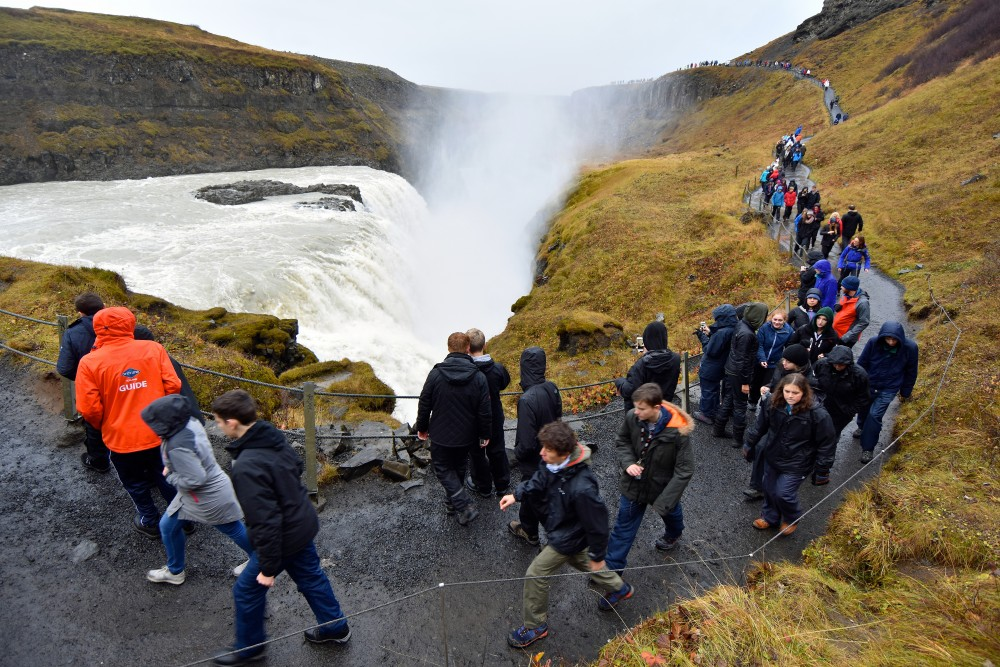 นักท่องเที่ยว ไอซ์แลนด์