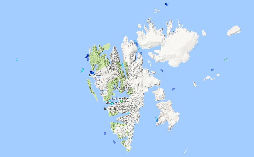 Busy days in Svalbard waters | The Independent Barents Observer