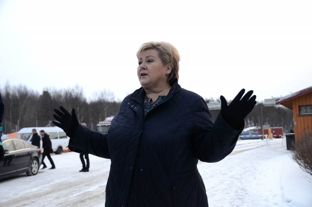 Erna Solberg Is On Her Way To The White House The Independent Barents Observer