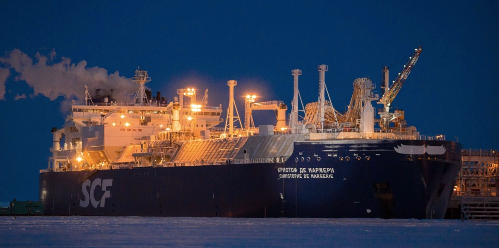 Icebreaking tankers have course for Russia's new Arctic LNG plant