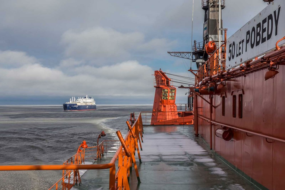 Amid growing concern about bad Arctic weather, more shipping