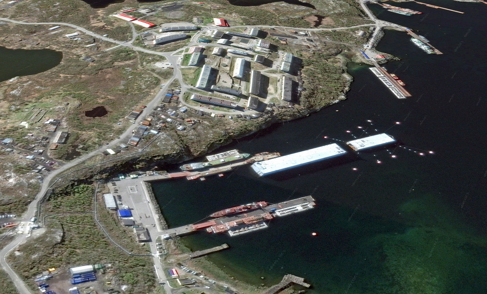 From this secret base, Russian spy ships increase activity