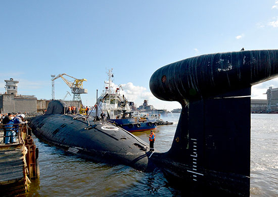 First modernized Akula attack submarine returns to Northern Fleet