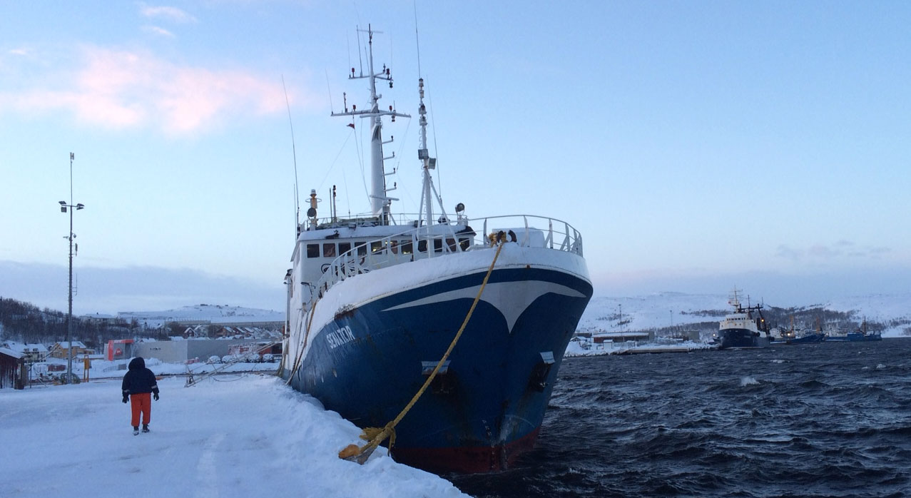 Norway takes tough line against eu in svalbard waters for Fishing in norway