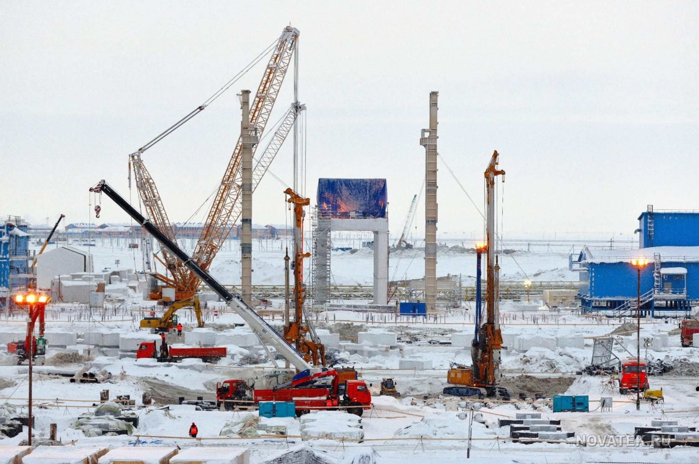 big interest in new arctic lng
